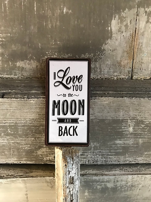 Magnet: I love you to the moon