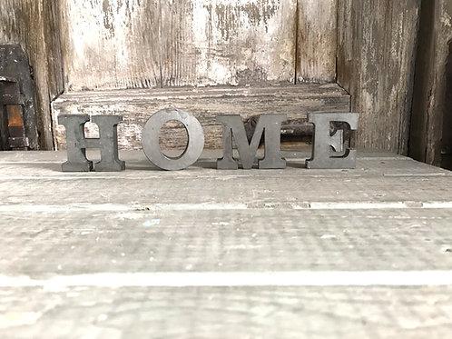 HOME - Metallbuchstaben