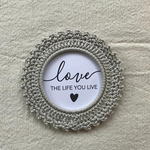 Love the life you live - div. Farben / Designs