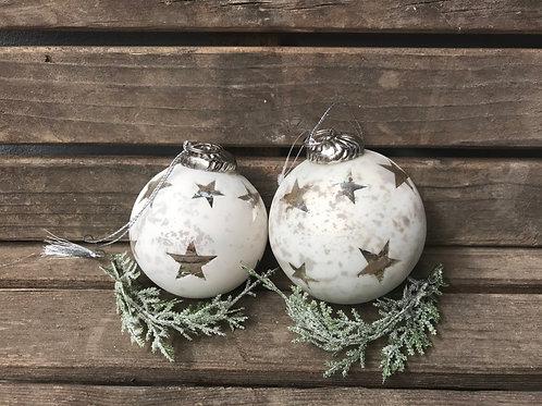 Baumkugel mit Sternen - 2 Grössen