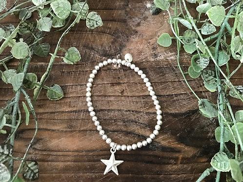 Armbändli - dünn mit Silberstern