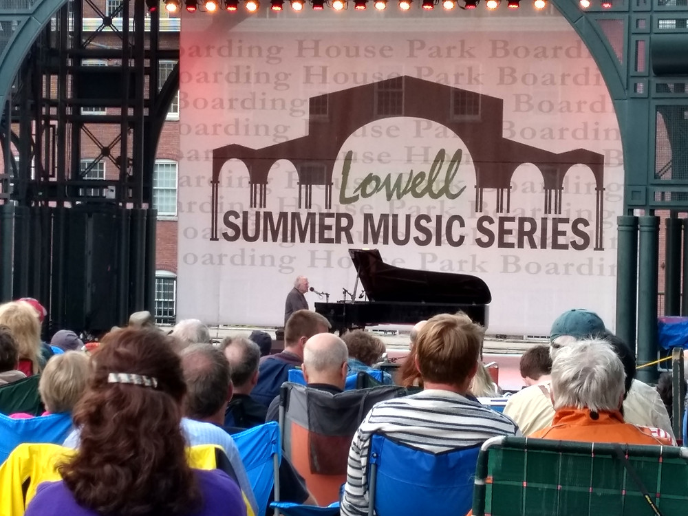Randy Newman playing solo in Lowell!