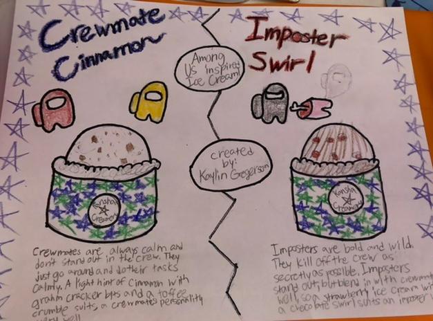 Crewmate Cinnamon/Imposter Swirl