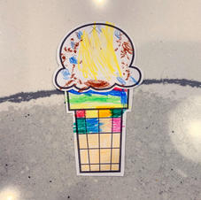 Nai Nai's ice cream hats