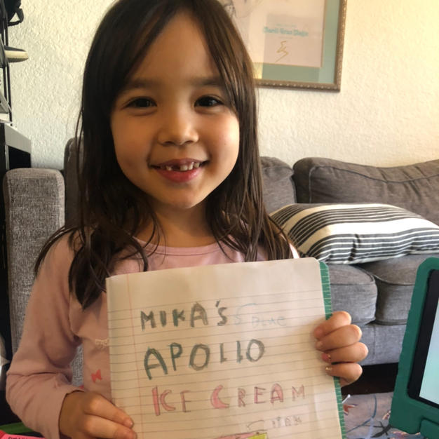 Mika's Apollo Choco Ice Cream