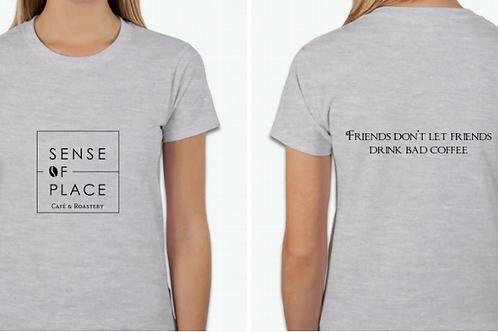 Sense of Place Logo T-Shirt - Grey