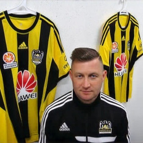 Ibrom Promo picture for the Wellington Phoenix