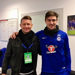 Ibrom at Chelsea FC