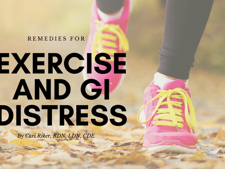 Remedies for Exercise and Digestive Issues