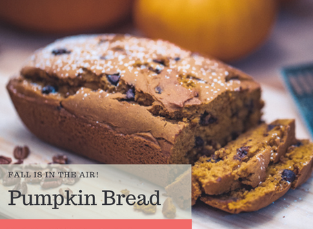 Low FODMAP Pumpkin Bread