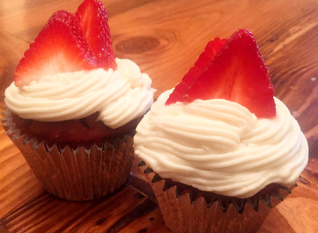 Low FODMAP Red Velvet Cupcakes