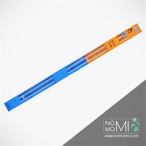 Спиці в'язальні прямі PONY 35см - 3мм