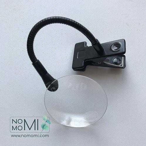 Міні-лупа DMC з затискачем. Ø 9 см