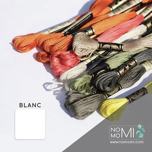 Blanc Муліне DMC Фабричний моток