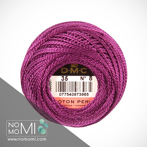 35 Pearl Cotton Balls Size 8
