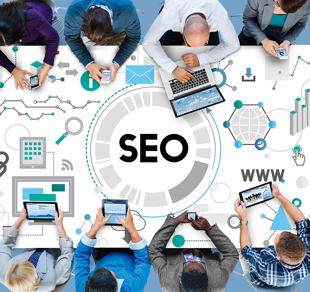 SEO website optimization, organic traffic, search result top ranking