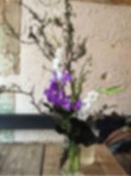 定期装花 パリ レストラン