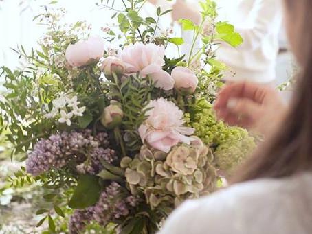 L'atelier en MAI  お花を楽しむ会 5月