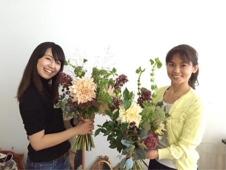 お花を楽しむ会 10月