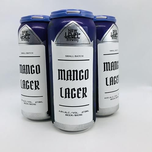 Mango Lager 4.5%ABV 4x473mL