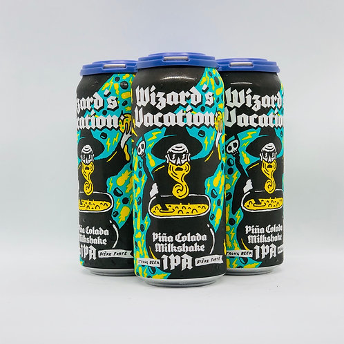Wizard's Vacation Pina Colada IPA 7%ABV 4x473mL