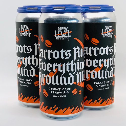 C.R.E.A.M Carrots Rule Everything Around Me, 6%ABV 4x473mL