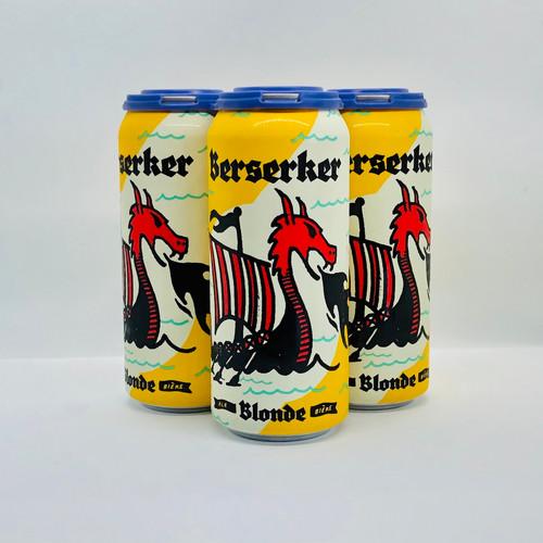 Berserker Blonde 5.5%ABV, 4x473 mL