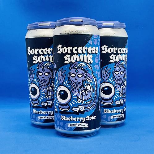 Sorceress Sour Blueberry Cobbler Sour Ale 5.5% 4x473ml