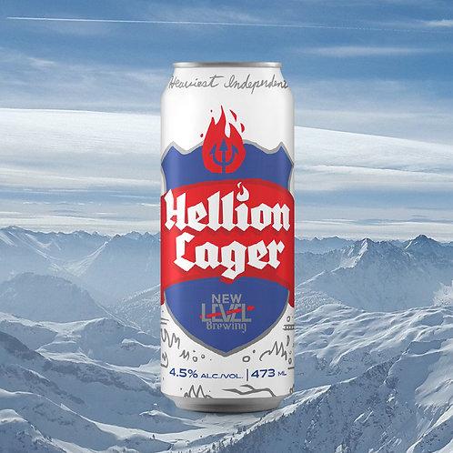 24 x Hellion Lager 473mL 4.5%ABV
