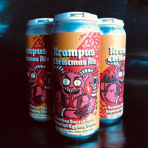 Krampus Christmas Ale Bourbon Barrel-Aged Imperial Eggnog Stout 11.9%ABV 4x473mL