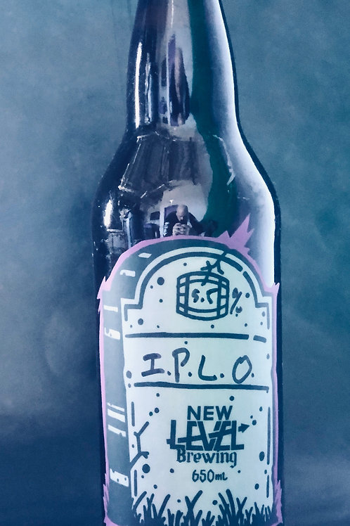 I.P.L.O .(India Pale Lagered Oats) 5.5%ABV 650mL