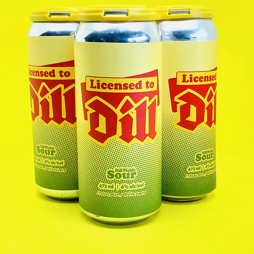 Licensed to Dill, Pickle Sour 6%ABV 4x473mL