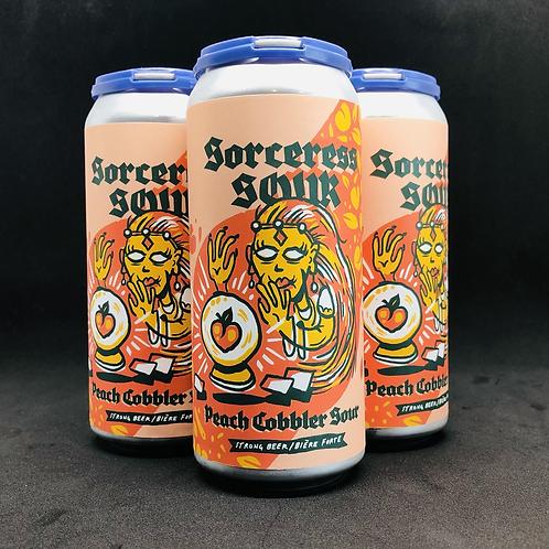 Sorceress Sour Peach Cobbler Sour 4x474mL