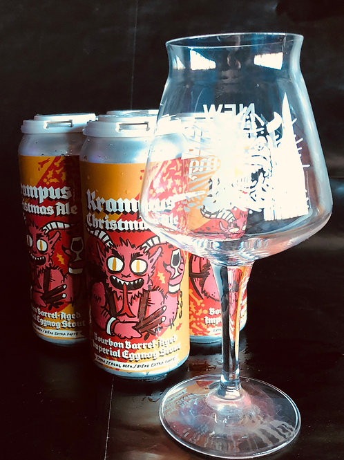Krampus 4 pack Plus Teku Glass