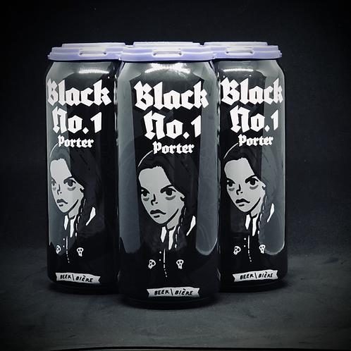 Black No.1 Porter, 5%ABV 4x473mL