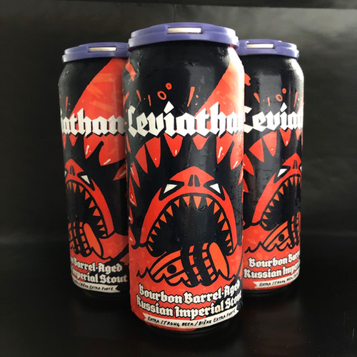 Bourbon Barrel Leviathan 10% ABV 4x473mL