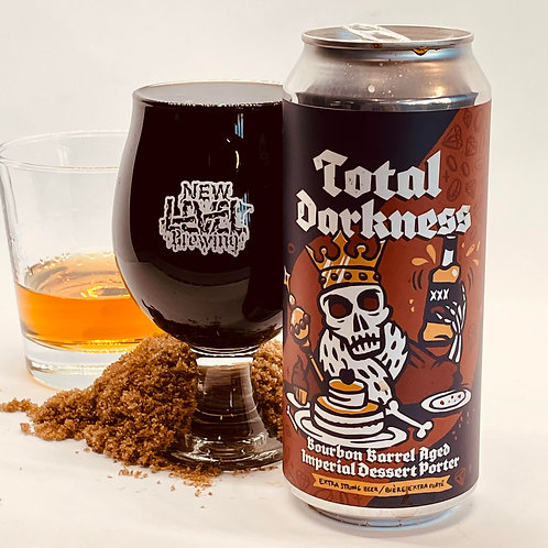Total Darkness - Bourbon Barrel Aged Dessert Porter  11.4% 4x 473ml