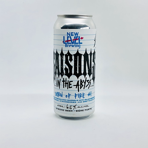 Saisons in the Abyss-- Born of Fire #1 (Single 473mL)