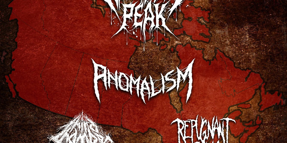 Widow's Peak Tour Kickoff! w/ Anomalism (Wpg) + Special guests (SOLD OUT)