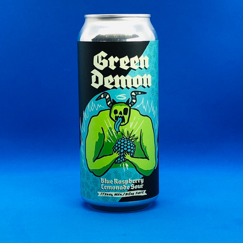 Green Demon Blue Raspberry Lemonade Sour 6% 4x473mL