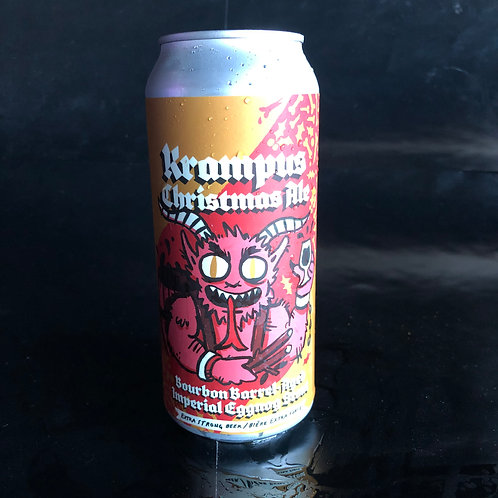Krampus Christmas Ale Bourbon Barrel-Aged Imperial Eggnog Stout 11.9%ABV 473mL
