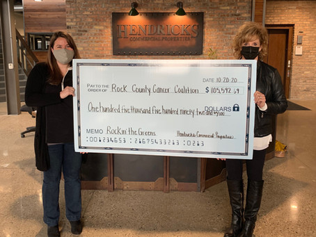 HCP Presents Rock County Cancer Coalition with $105K to Support Community