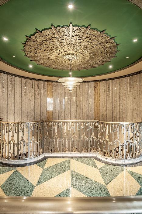 28-(Bottleworks Restored Spiral Stairs H