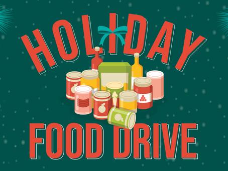Geronimo Restaurants Kickoff Holiday Food Drive to Benefit Community Food Pantries