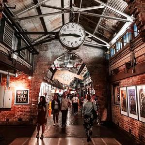 Food Hall - Chelsea Market, New York City