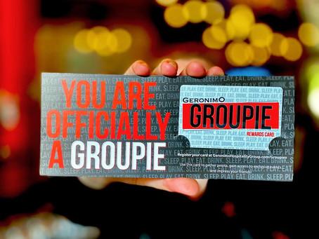 Geronimo Hospitality Group Launches Groupies Customer Rewards Program