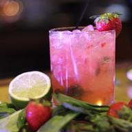 Basil Strawberry Cooler