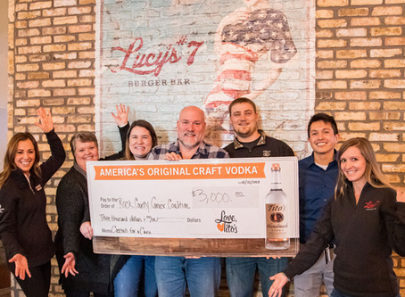 geronimo RESTAURANTS DONATE TO ROCK COUNTY CANCER COALITION