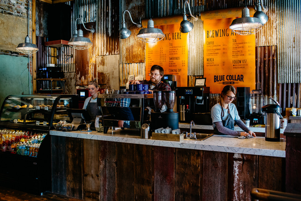 Blue Collar Coffee - Beloit, WI