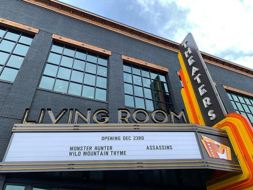 Living Room Theaters, an upscale, eight-screen cinema that shows the best indie, foreign and local films in intimate, living room-style theaters, has opened at Bottleworks District.